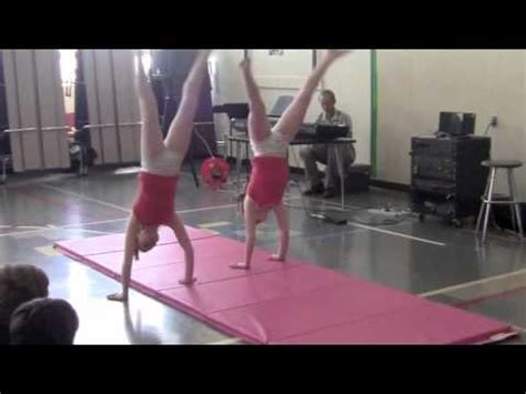 grade gymnastics talent show routine youtube
