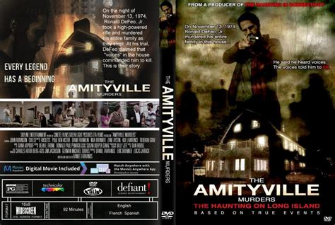 2018 DVD Cover the Amityville Murders