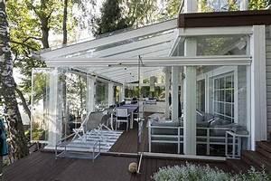 Rideau De Toit Pour Veranda : v randa rideau de verre verrelec ~ Melissatoandfro.com Idées de Décoration