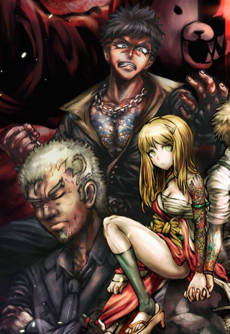 yakuza arc  chapter  danganronpa amino