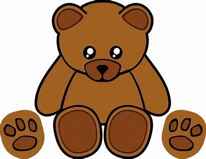 Bear Clipart Wanton Dig Stuffed Teddy Beruang