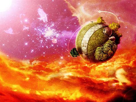 King Kai S Planet Dragon Ball Z Wallpaper Fanpop