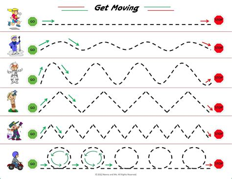 motor handwriting free printable from nonna and me 152 | 1e6250aac812060a8f3ee6790acde8a4