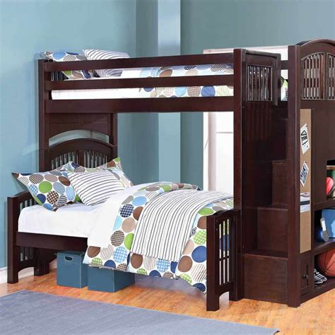 Couch With Sofa Bed by Twin Over Full Bunk Bed With Trundle Brown Loft Bed
