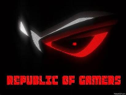 Gamers Rog Republic Asus Gifs Computer Html5