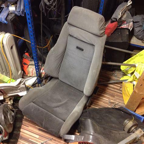 siege recaro rs turbo recaro seats front x2