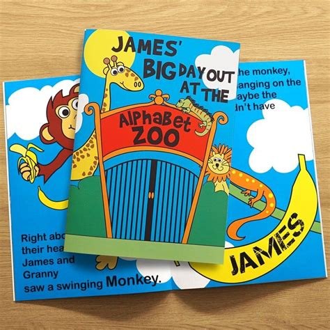 zoo story personalised books