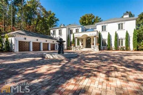 square foot mansion  atlanta ga homes   rich