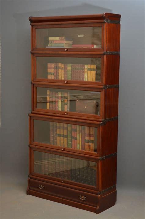 mahogany bookcases for globe wernicke mahogany bookcase 250233 7317