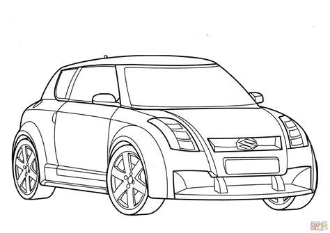 Renta de juegos mecánicos para ferias, escuelas, eventos infantiles. Dibujo de Suzuki car para colorear   Dibujos para colorear ...