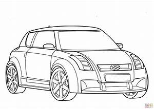 coloriage suzuki coloriages a imprimer gratuits With suzuki swift car