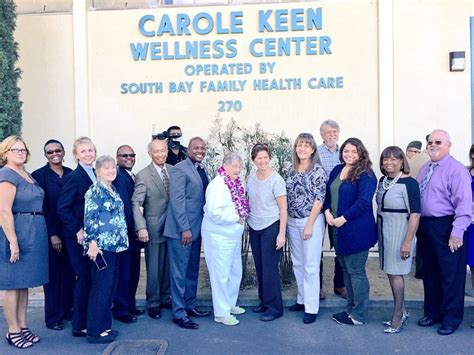 south bay family health care carole keen wellness center grand opening