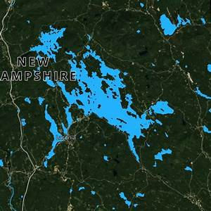 28 New Hampshire Lake Map Maps Online For You