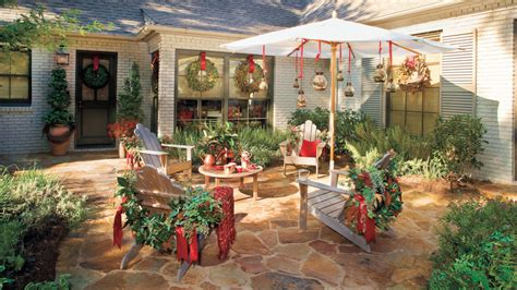 christmas patio decorating 100 fresh decorating ideas southern living