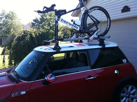 Roof Rack Cargo Box And Bikes