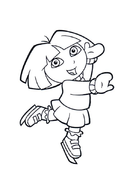 princess dora coloring pages coloring home