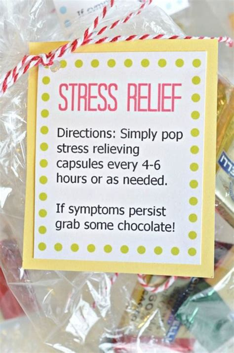 simple stress relief gift idea stress relief gifts