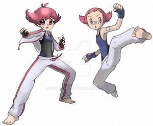 Pokemon Diamond Pearl REMAKE maylene by vikthor01 on ...
