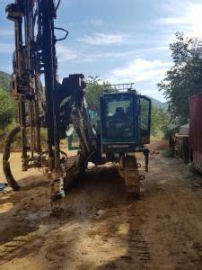korea exconpart  crawler drill  hydraulic drill