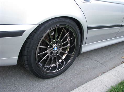 bmw style 32 18 inch style 32 in slightly shadow chrome e38