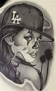 gangster Girl Clown Drawings - Bing Images | CHICANO GIRL ...