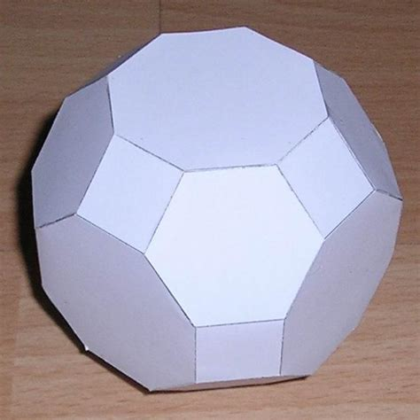 Truncated Cuboctahedron Template by Paper Truncated Cuboctahedron