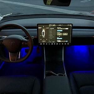 Model 3 Ambient Colored LED Lighting Upgrade Kit