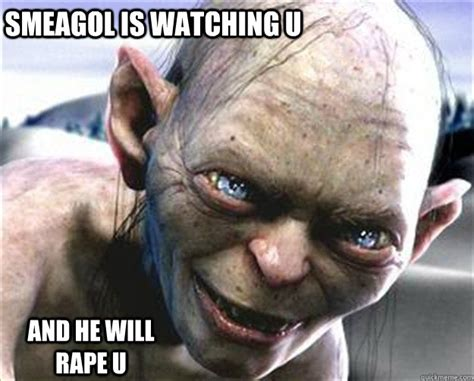 Smeagol Memes - funny gollum memes