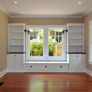 Built In Window Seat Design Ideas, For the Home Pinterest