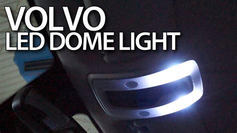 volvo interior dome light led conversion