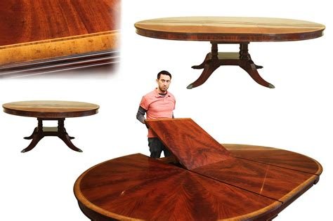 72 inch round dining table custom 72 inch round dining table with self storing leaf