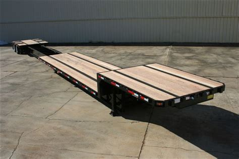 53 step deck with rs 53 72 foot extendable drop deck trailer chassisking