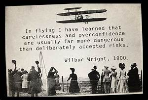 In flying I hav... Famous Flight Safety Quotes