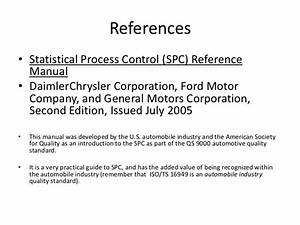 Introduction To Statistical Process Control 20 Jun 2011