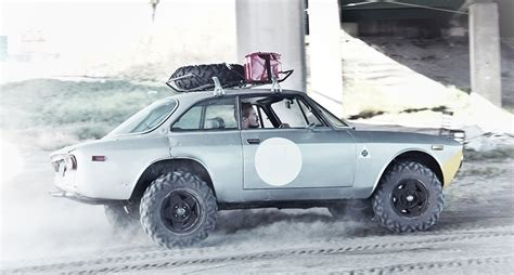 This Offroad Alfa Romeo Gtv Is Ready For Anything