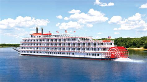 Mississippi Paddle Boat Cruises by Introducing America American Cruise Lines Newest