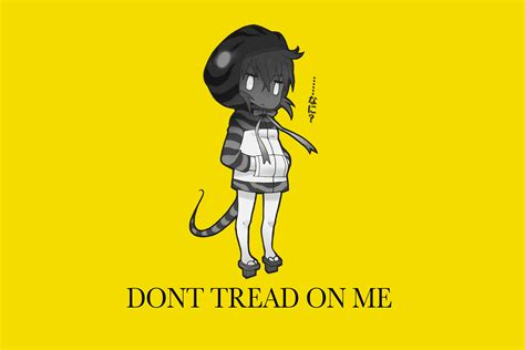 Don T Tread On Me Memes - don t tread on kemono friends gadsden flag don t tread on me know your meme