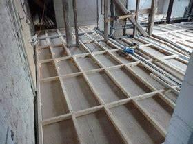 Dřevěný rošt pod osb desky