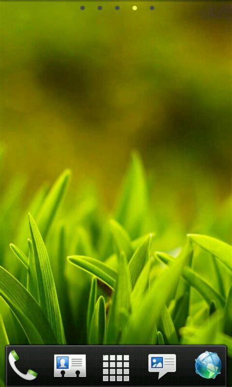 green grass  android phones theme android