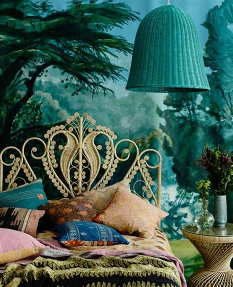 1001 id 233 es pour une chambre bleu canard p 233 trole et paon sublime