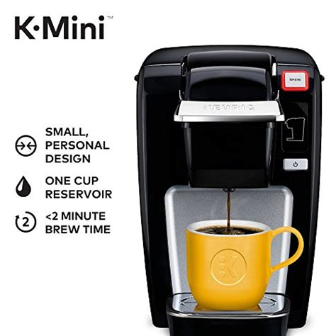K cup coffee maker that comes with a touch screen interface, it is very convenient and comfortable for modern people to use on a modern device. K-Mini K15 Single-Serve K-Cup Pod Coffee Maker For Small Spaces And Portable New 611247355930 | eBay