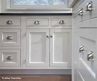 kitchen cabinets knobs Farmhouse Kitchen - Farmhouse - Kitchen - Philadelphia - by Custom Woodworking Cabinetry ...