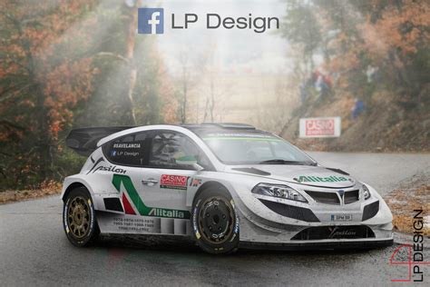 Lancia Ypsilon WRC 2018 by renxo93 on DeviantArt