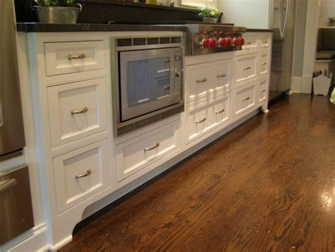 floor kitchen cabinets was this set of cabinets above the wide toe kick cutout 3786
