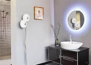Miroir Rond Led : meubles rond en d mo montr al miroir led rond en ~ Teatrodelosmanantiales.com Idées de Décoration