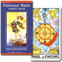 wait universal tarot deck tarot cards rider edition brilliant t0104