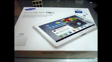 unboxing samsung galaxy tab    wifi youtube