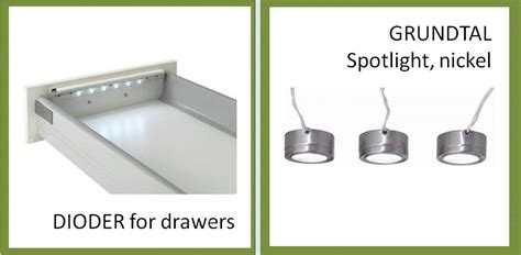 Grundtal Cabinet Lighting by The Best Way To Light Your Ikea Kitchen