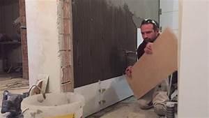 Fliesen Wand Bad : bad fliesen verlegen wand teil 1 wei e fliesen 30 90 youtube ~ Markanthonyermac.com Haus und Dekorationen