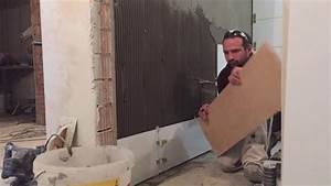 Fliesen Verfugen Wand : bad fliesen verlegen wand teil 1 wei e fliesen 30 90 youtube ~ Frokenaadalensverden.com Haus und Dekorationen